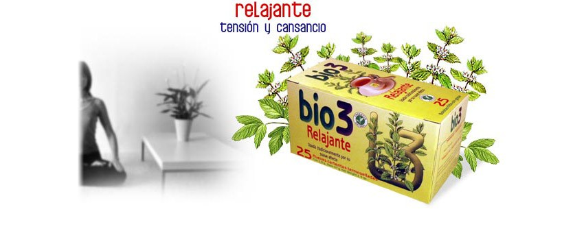 BIE3 RELAX 25 BOLSITAS INFUSION