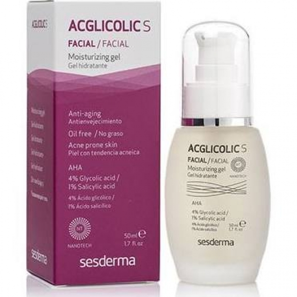 ACGLICOLIC S GEL HIDRATANTE FACIAL 50ML
