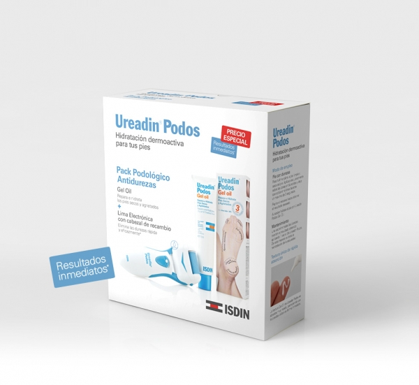 UREADIN PODOS PACK GEL OIL + LIMA ELECTRONICA