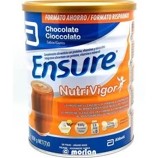 ENSURE NUTRIVIGOR CHOCOLATE 850GE