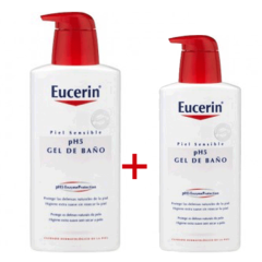 EUCERIN PH5 GEL DE BAÑO 1L + 400ML