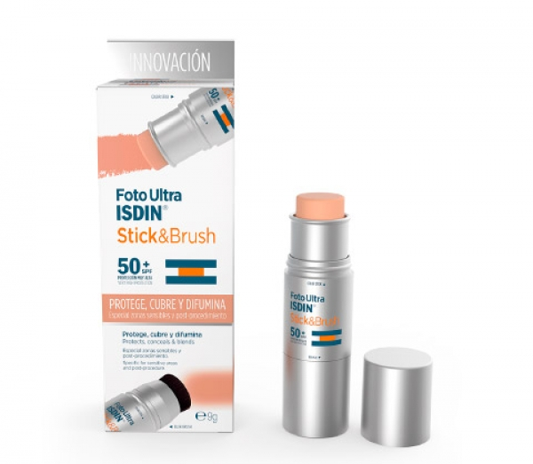 FOTOULTRA ISDIN STICK & BRUSH 50+