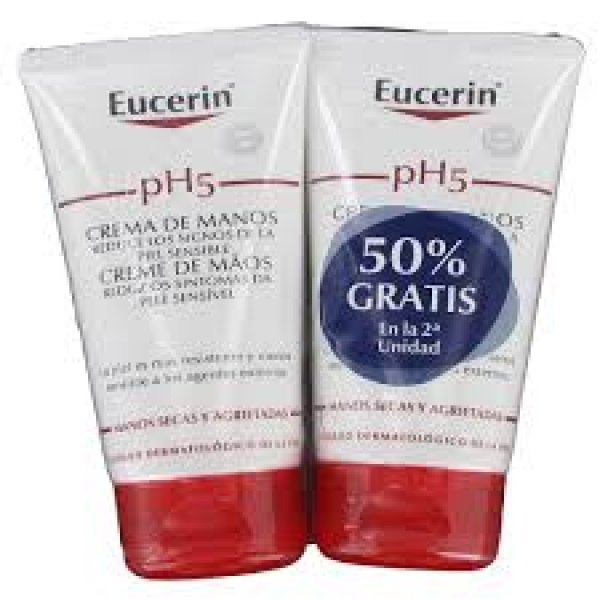 EUCERIN SKIN-PROTECTION CREMA MANOS 2X75ML