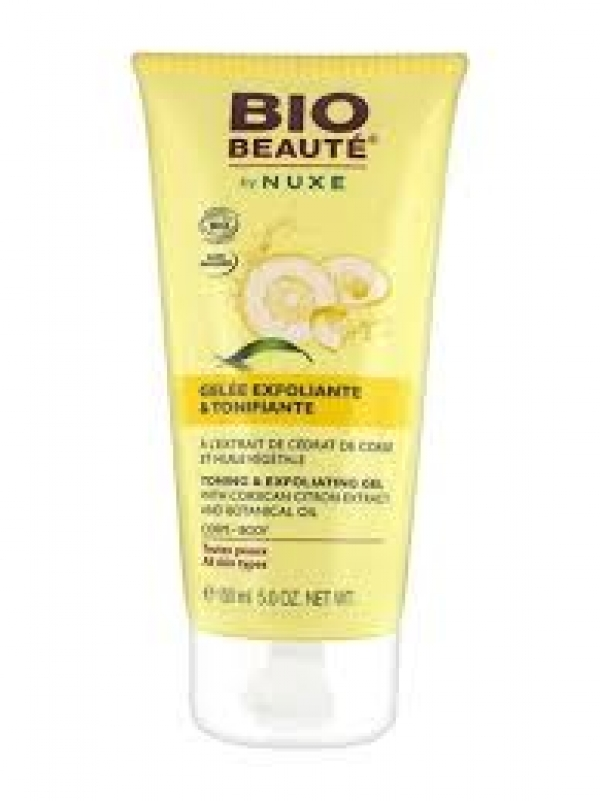 NUXE BIO BEAUTE GEL EXFOLIANTE Y TONIFICANTE 150ML