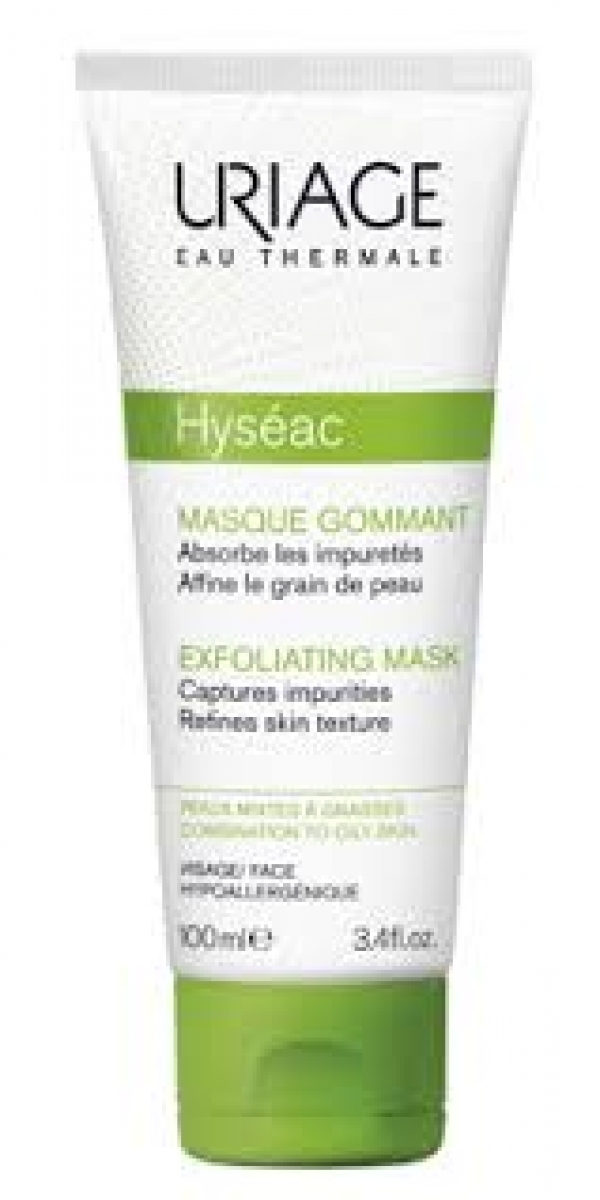URIAGE HYSÉAC MASCARA EXFOLIANTE 100ML