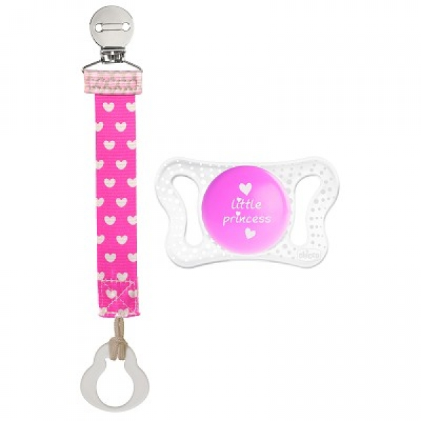 CHICCO PHYSIO MICRO FASHION CLIP ROSA