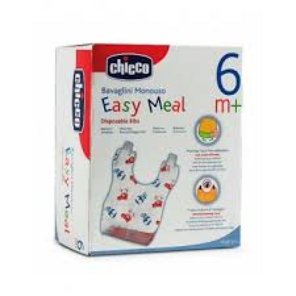 CHICCO BABEROS MONOUSO EASY MEAL 40 UNID
