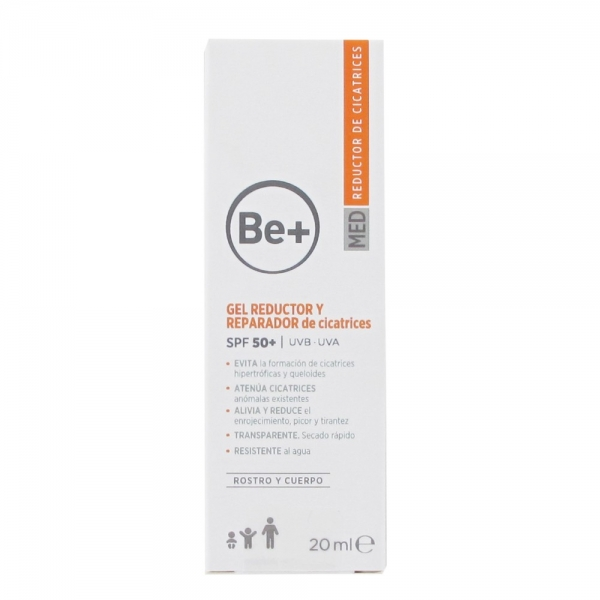 BE+ GEL REDUCTOR Y REPARADOR DE CICATRICES 20ML