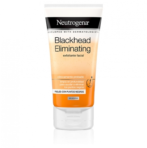 NEUTROGENA BLACKHEAD ELIMINATING EXFOLIANTE FACIAL 150ML